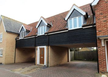 Thumbnail 2 bed maisonette for sale in Oak Farm Drive, Little Downham, Ely