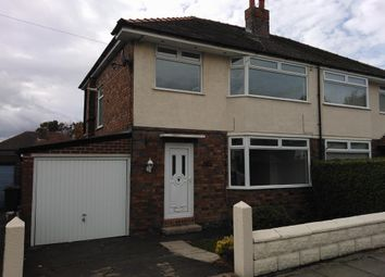 Thumbnail 3 bed semi-detached house to rent in Woodcote Bank, Rock Ferry, Birkenhead