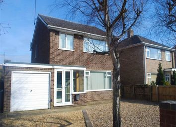 Thumbnail 3 bed detached house for sale in Pinewood Close, Bourne, Lincolnshire