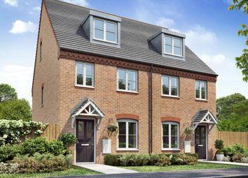 """Thumbnail 3 bed town house for sale in """"Ashton"""" at Weddington Road, Nuneaton"""