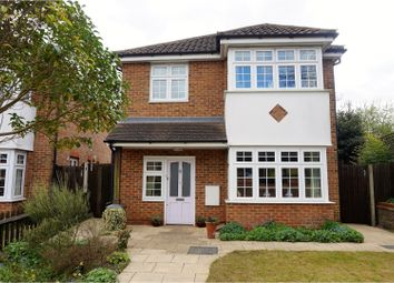 Thumbnail 4 bed detached house for sale in Hogarth Close, Luton