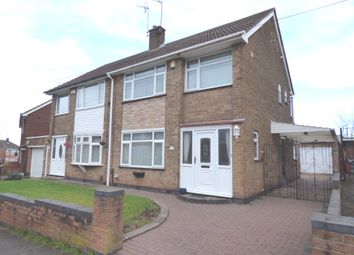 Thumbnail 3 bed semi-detached house for sale in Cawnpore Road, Whitmore Park, Coventry