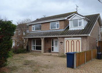 Thumbnail 4 bed detached house for sale in Old Lynn Road, Wisbech