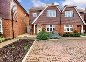 Thumbnail 3 bed semi-detached house for sale in Packham Drive, Marden, Tonbridge, Kent