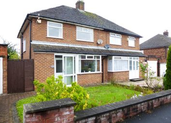 Thumbnail 3 bed semi-detached house for sale in Caulfield Drive, Greasby, Wirral
