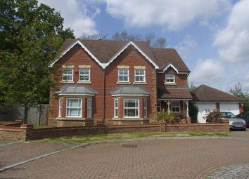 Thumbnail 4 bed detached house to rent in Hendon Grove, Epsom