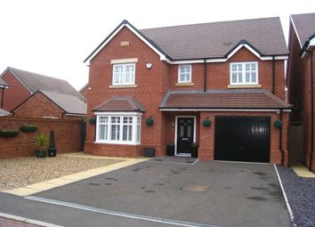 Thumbnail 4 bed detached house for sale in Bellerose Close, Bannerbrook Park, Coventry