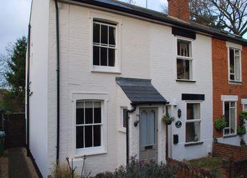 Thumbnail 2 bed end terrace house to rent in Waverley Road, Weybridge, Surrey