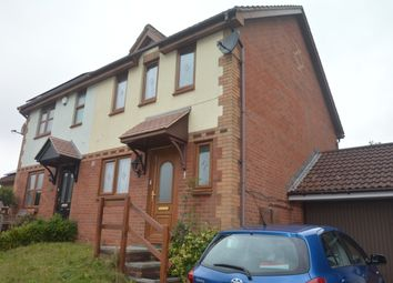 Thumbnail 3 bedroom end terrace house to rent in Mallard Close, The Willows