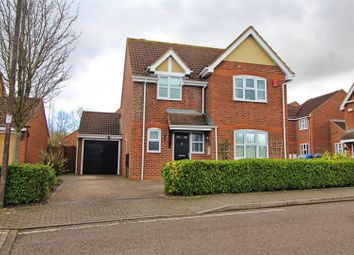 Thumbnail 4 bedroom detached house for sale in Portishead Drive, Tattenhoe, Milton Keynes