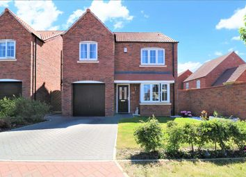 Thumbnail 4 bed detached house for sale in Loweswater Close, Waddington, Waddington, Lincoln