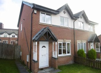 Thumbnail 3 bed semi-detached house for sale in Siddow Common, Leigh