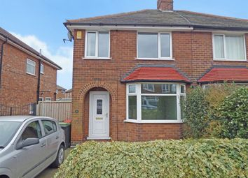 Thumbnail 3 bed semi-detached house to rent in Ashfield Avenue, Beeston Rylands