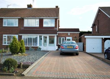 Thumbnail 3 bed semi-detached house for sale in Sheppey View, Seasalter, Whitstable