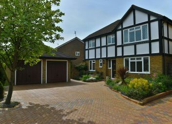 Thumbnail 4 bed detached house to rent in Edenham Close, Lower Earley, Reading