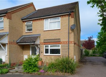 Thumbnail 3 bed semi-detached house for sale in Williams Close, Brampton, Huntingdon