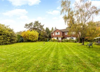 Thumbnail 4 bed detached house for sale in Ballards Lane, Oxted, Surrey
