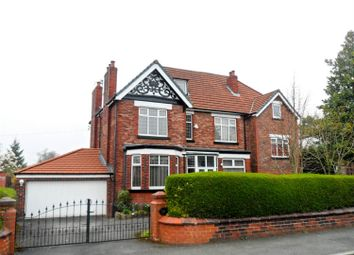 Thumbnail 4 bedroom detached house for sale in Broadoak Road, Worsley, Manchester