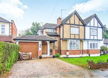 Thumbnail 4 bed semi-detached house for sale in Northumberland Avenue, Hornchurch