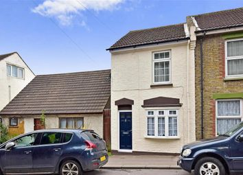 Thumbnail 2 bed end terrace house for sale in Upper Luton Road, Chatham, Kent