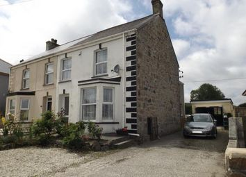 Thumbnail 4 bed semi-detached house for sale in Bugle, St. Austell, Cornwall