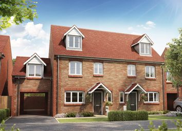 """Thumbnail 4 bed semi-detached house for sale in """"The Leicester Link """" at Hatfield Road, St Albans"""