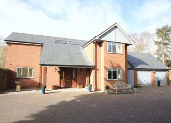 Thumbnail 4 bed detached house for sale in Croft Drive East, Caldy, Wirral