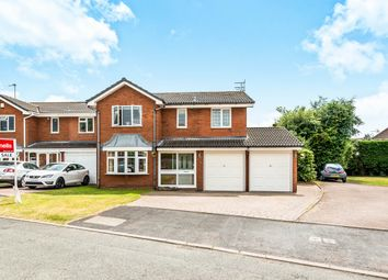 Thumbnail 5 bed detached house for sale in Chell Close, Penkridge, Stafford