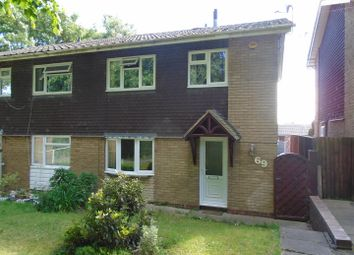 Thumbnail 3 bed semi-detached house for sale in Boston Close, Heath Hayes, Cannock