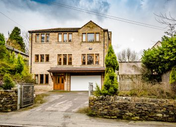 Thumbnail 5 bed detached house for sale in Somerset Road, Almondbury, Huddersfield