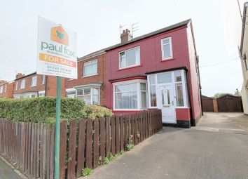 Thumbnail 3 bed semi-detached house for sale in Reginald Road, Scunthorpe