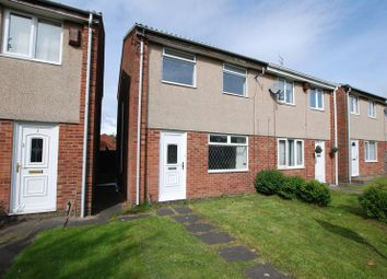 Thumbnail 3 bed semi-detached house for sale in Tynell Walk, Newcastle Upon Tyne