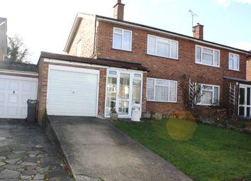 Thumbnail 3 bed semi-detached house for sale in Laneside, Chislehurst