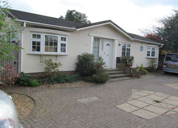 Thumbnail 2 bed mobile/park home for sale in Manygate Park, Mitre Close, Shepperton, Middx, 8Jp