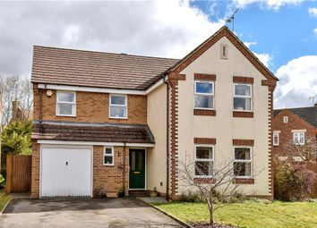 Thumbnail 4 bed detached house for sale in Lynams, Church Crookham, Fleet