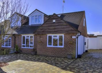 Thumbnail 3 bed semi-detached house for sale in Skimpans Close, North Mymms, Hatfield