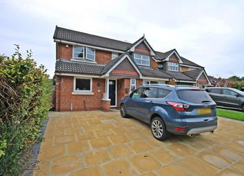Thumbnail 4 bed detached house for sale in Godstow, Runcorn