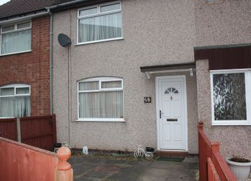 Thumbnail 3 bed terraced house to rent in Seagrave Road, Coventry