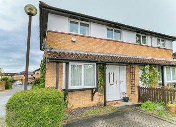 Thumbnail 3 bed semi-detached house for sale in Cornbury Crescent, Downhead Park, Milton Keynes
