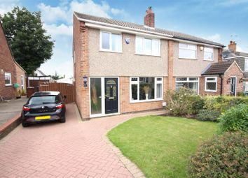 Thumbnail 3 bed semi-detached house for sale in Ledston Avenue, Garforth, Leeds
