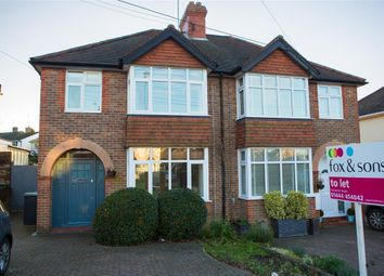 Thumbnail 3 bed semi-detached house to rent in Whitelands, Franklynn Road, Haywards Heath