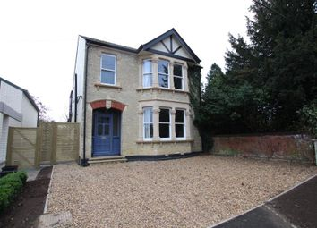 Thumbnail 3 bed detached house for sale in Barton Road, Ely