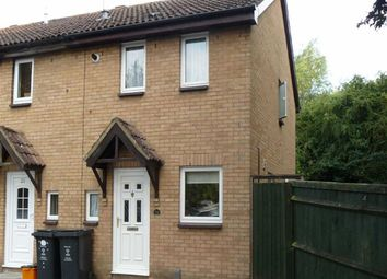 Thumbnail 2 bedroom end terrace house to rent in Partridge Close, Swindon