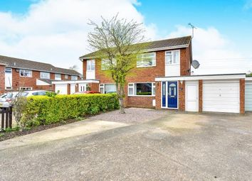 Thumbnail 3 bedroom semi-detached house for sale in Squires Road, Marston Moretaine, Bedford, Bedfordshire