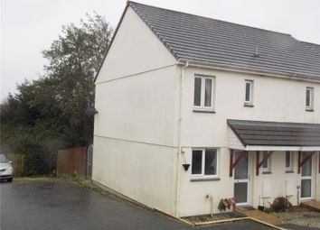 Thumbnail 2 bed end terrace house for sale in Bury Close, Warbstow, Launceston