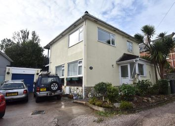 Thumbnail 4 bed detached house to rent in Gloucester Road, Teignmouth, Devon