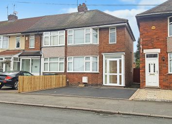 Thumbnail 2 bedroom end terrace house for sale in Capmartin Road, Coventry