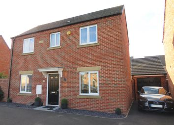 Thumbnail 3 bed detached house for sale in Athena Close, Peterborough