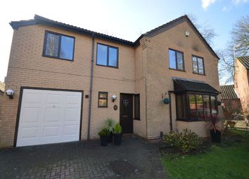 Thumbnail 5 bedroom detached house for sale in Moores Close, South Wigston, Leicester