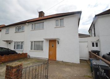 Thumbnail 3 bed end terrace house for sale in Crowley Crescent, Waddon, Croydon